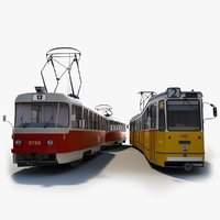 Tatra T3 + Ganz CSMG Tram Collection