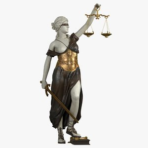 lady justice model