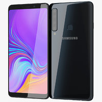 realistic samsung galaxy a9 3D model
