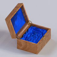 wooden box with lodgment