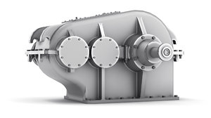 3D reducer gearbox