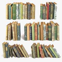 3D book set