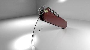 3D model victorinox swiss army knife tool