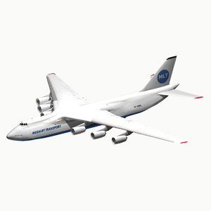 speculative transport 3D model
