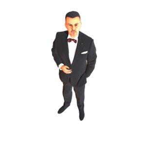 guy tuxedo model