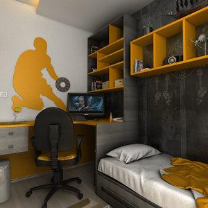 teen room 3D model