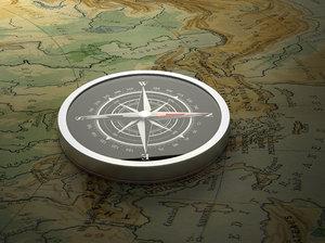 modern compass model