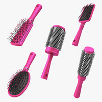 3D hair brushes 2