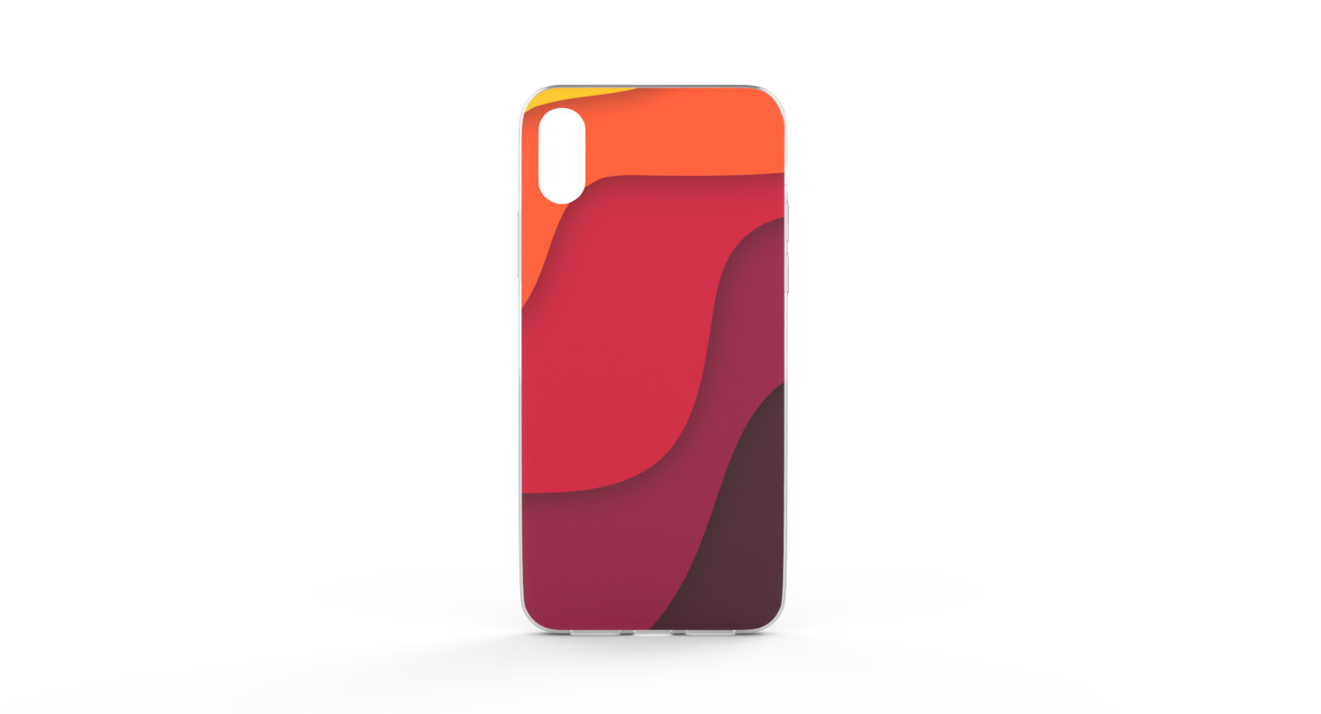 3D phone case model