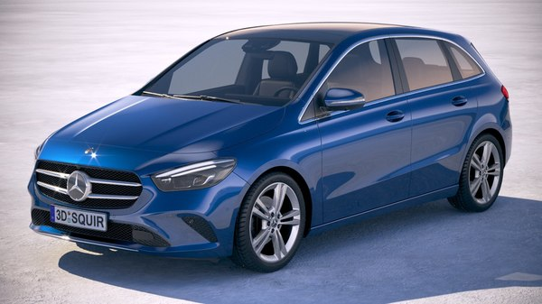 mercedes benz b-class 3D model