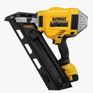 paper collated framing nailer 3D