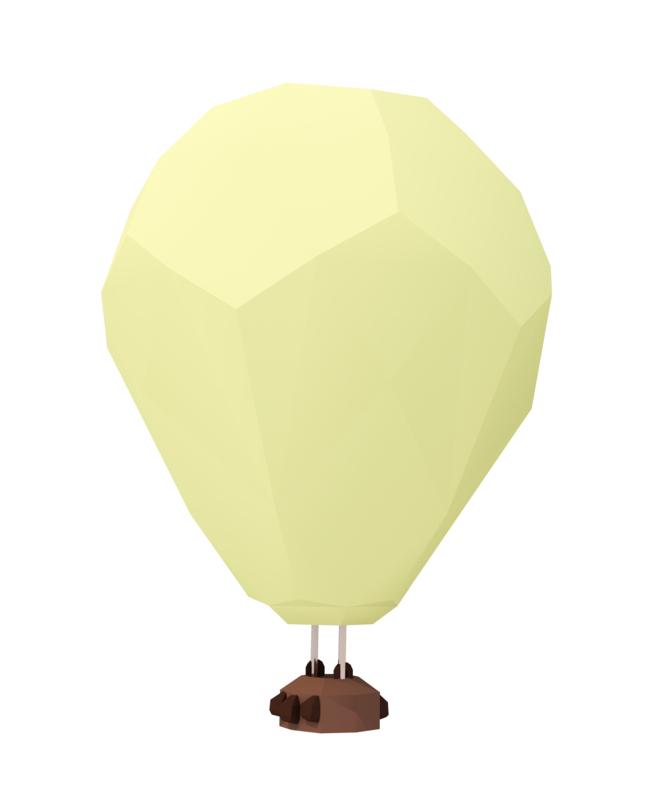 3D polyhot balloon
