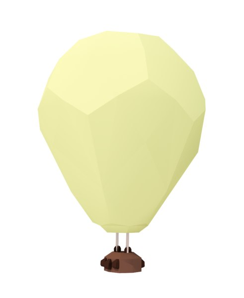 3D polyhot balloon