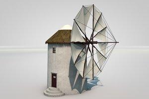 3D windmill sails