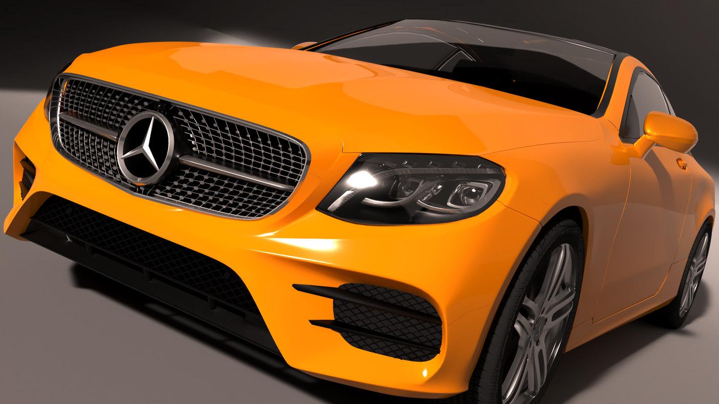 3D mercedes e-coupe