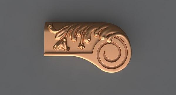 decor mold ready 3D model