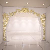 partition ornamental design 3D