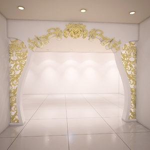 partition ornamental design 3D