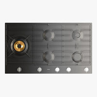 gas cooktop 3D model