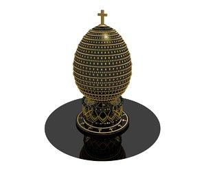 egg faberge 2 3D