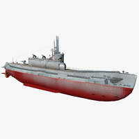 3D i-400 submarine