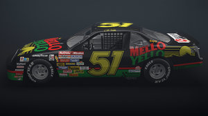 mello yello race car 3D model