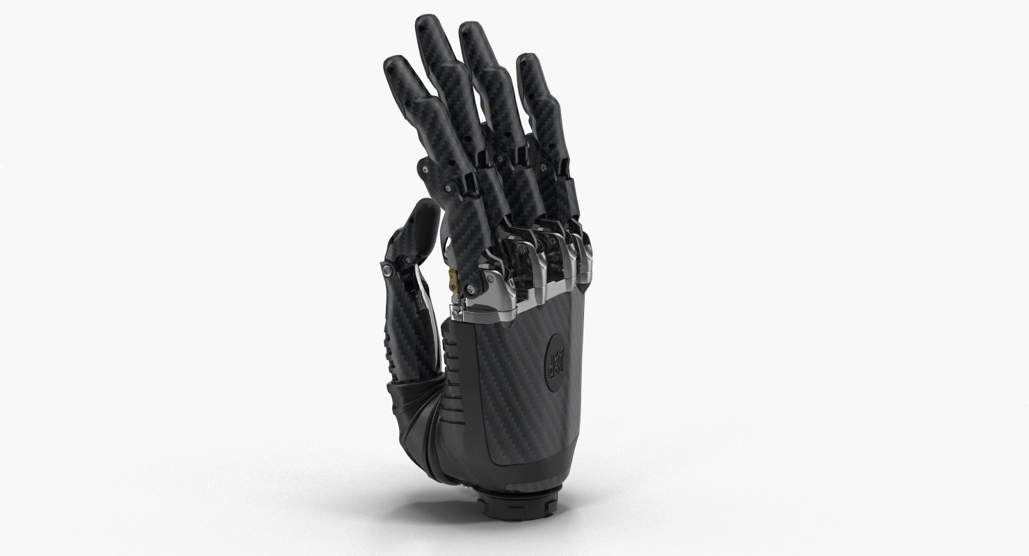3D prosthetic hand model