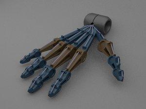 robo palm 3D model