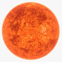 sun star 3D model