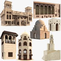 Large Arabic Islamic Buildings