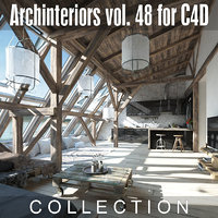 archinteriors vol 48 interior scenes 3D model