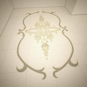 decorative ornaments 3D model