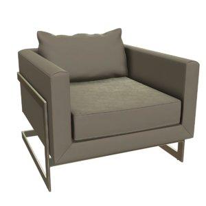 megara lounge chair 3D
