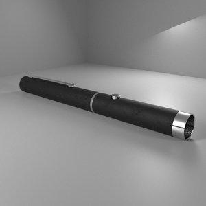 laser pointer 3D model
