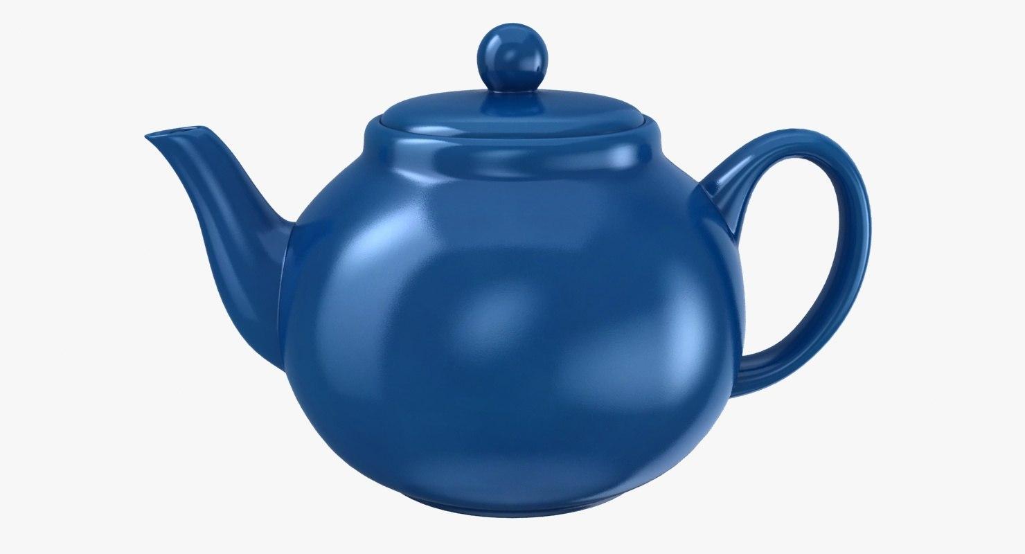 3D teapot scanline ready