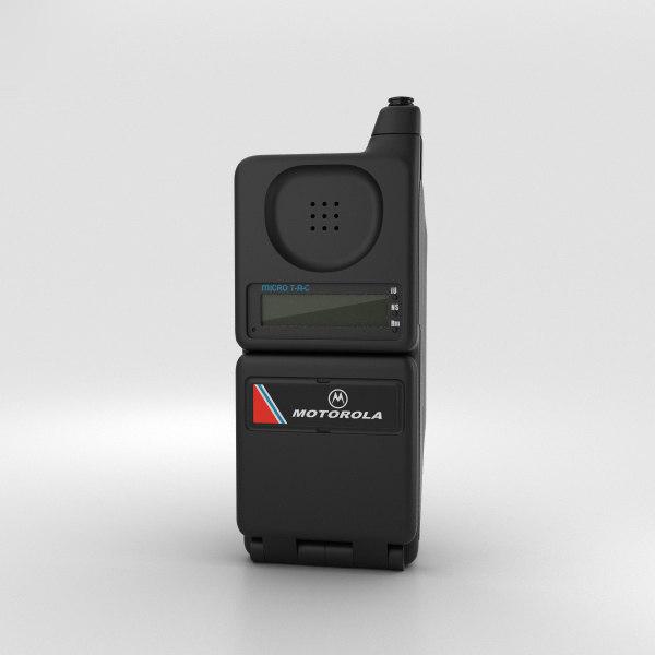 motorola microtac 9800x 3D