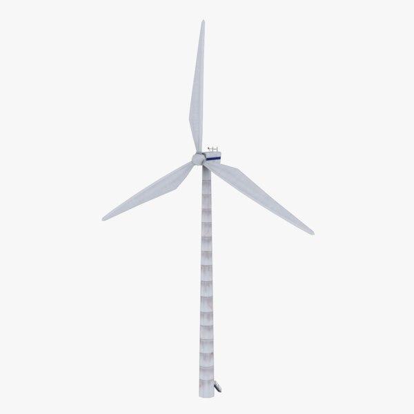 olienne wind turbine 3D model
