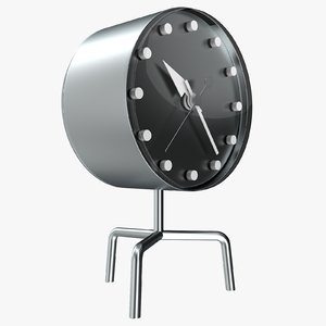 office clock 3D