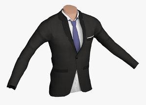 man suit 3D model
