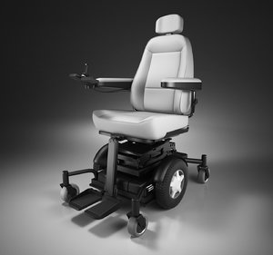 3D motorised wheelchair