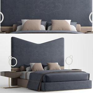 bed gogolov artem 3D model