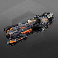 Federation Destroyer GX4