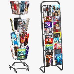 magazine stand 3D model