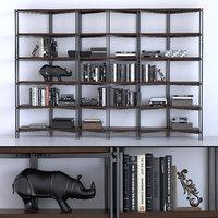 hudson bookcase 3D model
