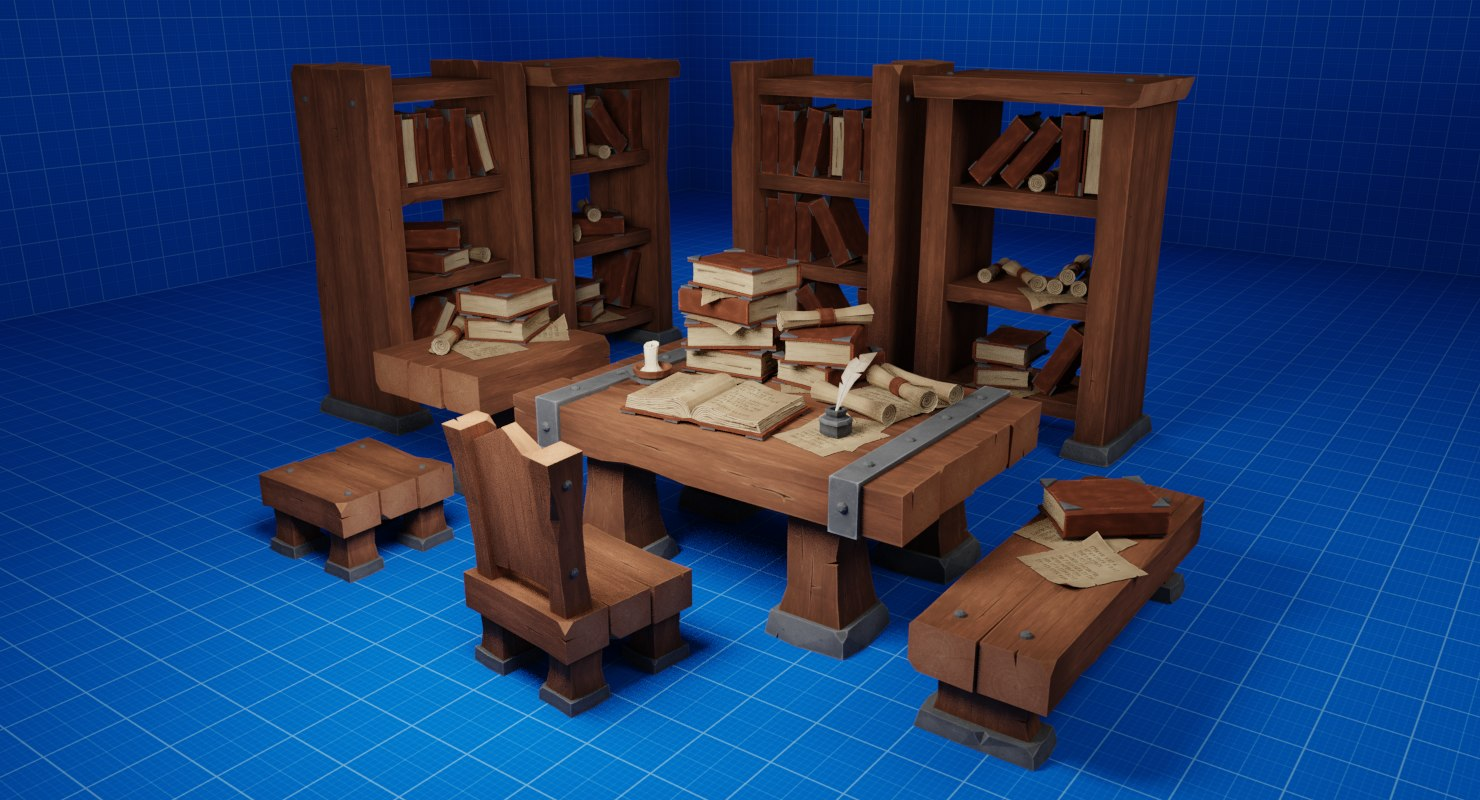 3D setting stool chair