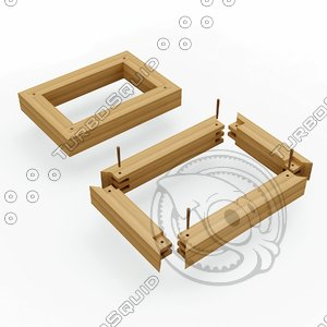 joinery structures 3D