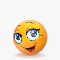 3D emoji v003 model