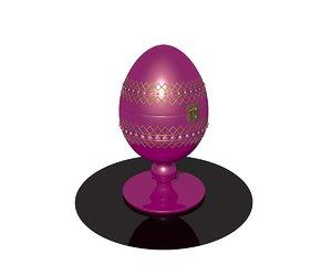 3D egg faberge