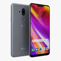 lg g7 thinq new 3D model