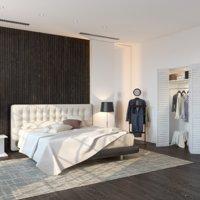 bedroom scene 3D